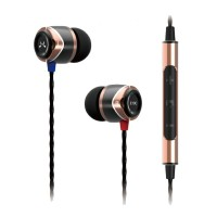 9899a1f8db9 SoundMagic E10C Noise Isolating In-Ear Headphones with Mic-Gold