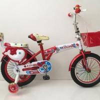 Jual Khusus Gosend - Sepeda Lipat Anak 16 Inch Lkf-161 Murah