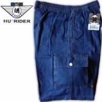 TERLARIS celana pendek Kolor Pendek Jumbo Jeans Karet Pria Wanita HR