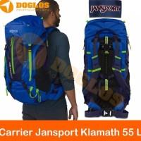 Carrier Jansport Klamath 55 L Backpack Tas Gunung Keril Outdoor