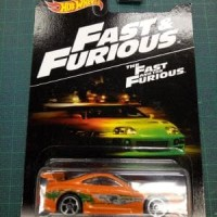 Hot Wheels HW Fast and Furious 94 Toyota Supra Orange US Card 2016