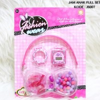 Jam tangan anak paket souvenir termurah grosir fashion frozen barbie