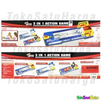 Mainan Edukasi 3 in 1 Action Game Sport Family Game Good Quality