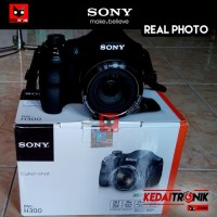 (Dijamin) Camera Sony Cybershot DSC-H300 DSLR Kamera Pocket HD 35X ORI