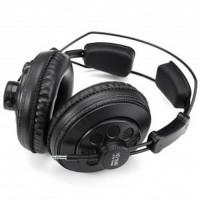 Superlux HD668B Semi Open-Back Headphone Monitoring Studio - Black