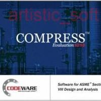Codeware COMPRESS Build 6258 (Pressure Vessel Calculation)