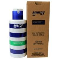 original parfum tester Benetton Energy man 100ml edt