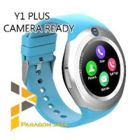 Smart Watch DZ11 Plus  - JAM PINTAR Smartwatch Y1 Plus Camera Biru