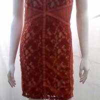 Harga obral dress pakaian wanita brokat rajut silk casual   Pembandingharga.com