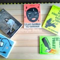 Buku Novel Lelaki Harimau ( Eka Kurniawan ) Cover Baru