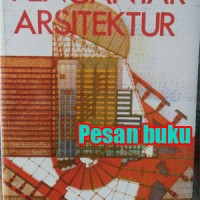 Buku Pengantar Arsitektur Oleh James C. Snyder, Anthony J. Catanese