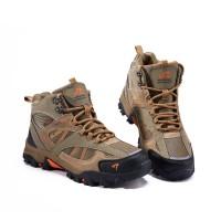 Sepatu Gunung SNTA 481 Beige Brown Boot /Hiking /Trekking/Outdoor