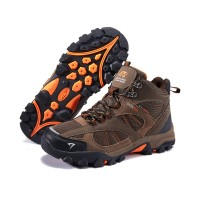Sepatu Gunung SNTA 481 Brown Orange Boot /Hiking /Trekking/Outdoor
