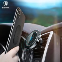 Baseus Car Magnetic Qi Wireless Fast Charging Air Vent Mount Holder
