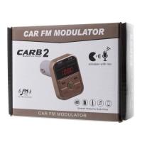 Bluetooth FM Transmitter MP3 Player Car Kit USB Port CARB2 Charger