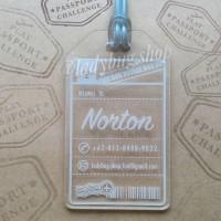 Jual BAG/LUGGAGE TAG - (DESIGN: NORTON) Murah