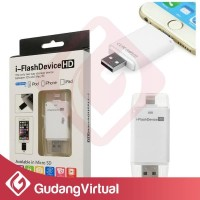 i Flash Device HD Memory External Untuk iPhone iPad iPod Lightning