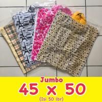 Kantong Plastik Soft Handle/Softhandle Motif Jumbo 45x50