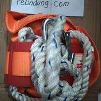 safety belt full body tambang pengaman Tali proyek sabuk pengaman