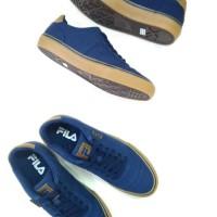 Sepatu Pria Fila British Navy/Gum/Navy