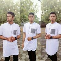 Kemeja Koko Pakistan Alif Premium - Baju Koko Moderen Murah Berkualita