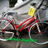 sepeda city bike 26 united pattaya frame alloy