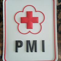 Logo pmi lengan / patch velcro