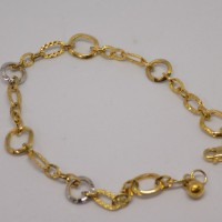 gelang tangan emas kuning/putih perhiasan mas 375 original gold murah!