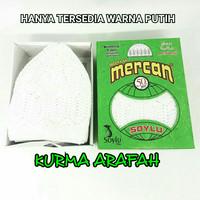 Souvenir Peci Kopyah Haji Umroh Mercan