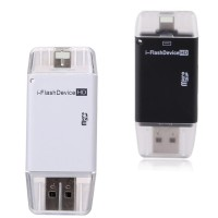 I Flash Device HD Memory External Untuk IPhone IPad IPod Lightning Por