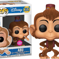 Funko POP! Disney - Aladdin - Abu Flocked