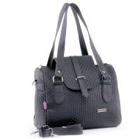Tas Handbag Kasual Wanita krem & hitam Garucci TPI 0885 T12