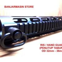 Ris Ras Handguard Penutup Tabung PCP Predator Air Arms Picatinny Rail
