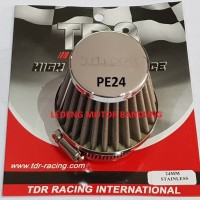 Jual PE24 Open Filter Udara TDR Karburator PE 24 Saringan