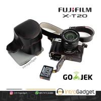 Leather Case Fujifilm XT10 XT20 Black Luxury Quality Full Halfcase