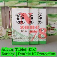 Baterai Advan TABLET E1C T1J E1B 1A T1H Rakkipanda Double Power