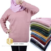 Boxy premium jumbo | sweater rajut | baju rajut | pakaian wanita