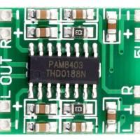 PAM8403 Mini Digital Stereo Audio Amplifier Speaker 3W x 2 Module