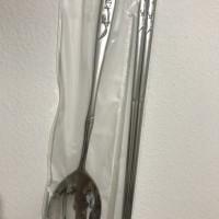 Jual Set Sujeo (sumpit + sendok) korea stainless steel / Spoon Set Murah