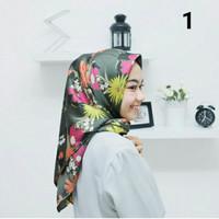 Hijab Segi Empat Motif by Hprojects, 100% Termurah