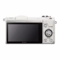 BEST MERK Camera sony alpha a5000 kit 16 50mm 201 mp putih memory so