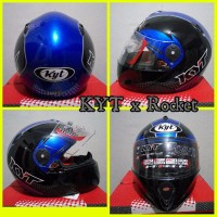 BEST MODEL Helm KYT x Rocket Retro helm murah helm fullface