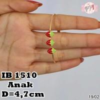A25819 Perhiasan Gelang Strawberry Anak Lapis Emas B 1510