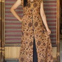 CB 187 cardigan batik model panjang