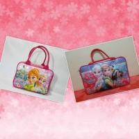 koper tas Paket Set 2 in 1 Travel Bag Anak Spon Yang Besar dan Yang