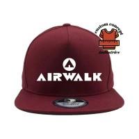 topi airwalk(snapback)new ukm897 Berkualitas