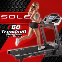Sole Fitness F60 Treadmill - Hitam