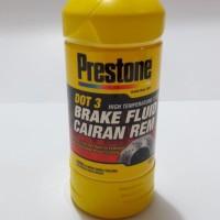 Minyak Rem Prestone DOT3 (PUTIH) Besar Untuk Mobil / Motor Segala Merk