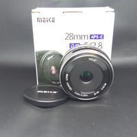 Lensa Meike 28mm F2.8 for Fujifilm XA2 XA3 XA10 XM XE XT20 XT10 dll
