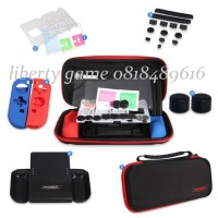 Nintendo Switch Dobe Protective Kit (Black List Red)